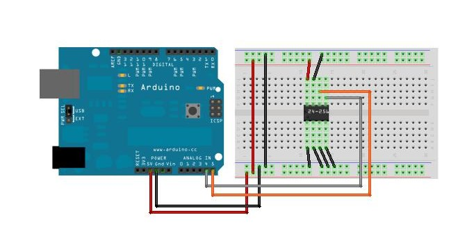 Download arduino eeprom library