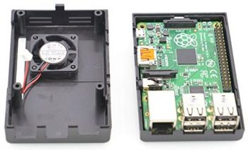 Makerfire Raspberry Pi Case with Fan