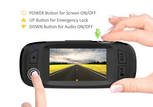 AutoVox Dash Cam Easy Operation